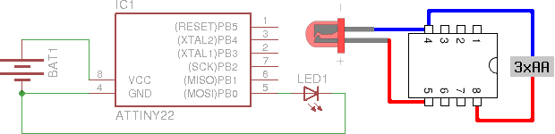 Lighthouse controller schematics