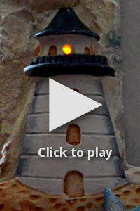 The completed lighthouse, click to play