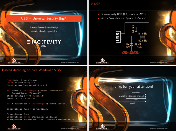 Four slides from my Hacktivity 2012 talk